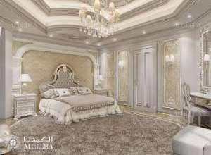 Classic Interior Master Bedroom Design Project