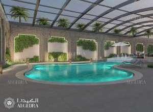 Classic Interior Design Pool