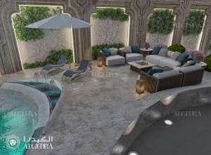 Classic Interior Design Pool side