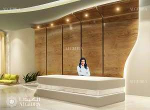 Clinic Front Desk Design
