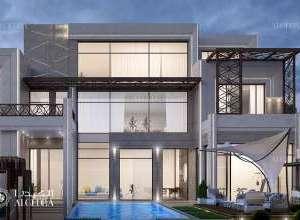 Deluxe Villa Architecture UAE