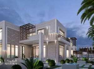 Deluxe Villa Architecture Dubai