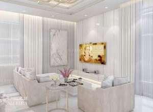 Deluxe Villa Interior Sitting Room Interior