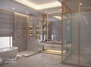 Deluxe Villa Interior Bathroom Design