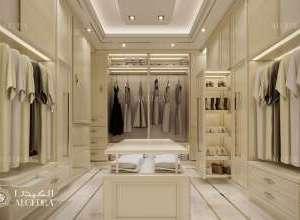 Deluxe Villa Interior Dressing Room Design