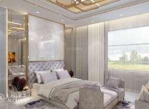Deluxe Villa Interior Bedroom Design