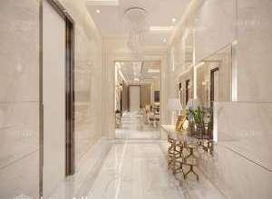Deluxe Villa Interior Entrance