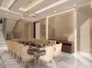 Deluxe Villa Dining Hall Design