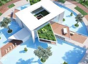 Floating Villas Architecture Dubai