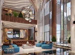Elegant Hotel Lobby Design