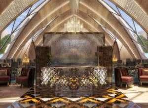 Italian Restaurant Interior Project Dubai
