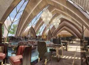 Italian Restaurant Beautiful Interior Project 2