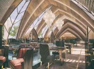 Italian Restaurant Wonderful Interior Project