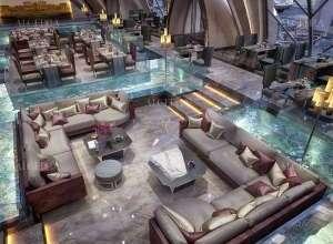 Italian Restaurant Beautiful Concept Dubai