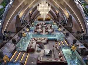Italian Restaurant Interior View