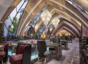 Italian Restaurant Luxurious Design Project