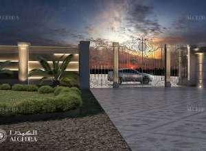 landscape entrance design