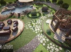 حدائق احترافية