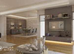 Design of interior houses
