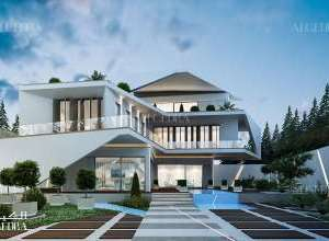 Luxury Villa Architecture Dubai