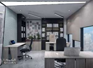 office feature wall design