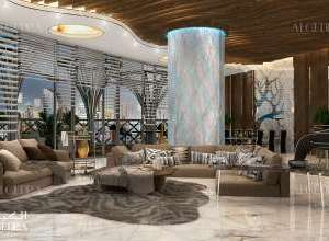 Penthouse Hall Design