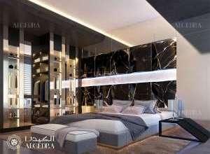 Penthouse Bedroom Design Dubai