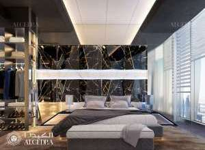 Penthouse Bedroom Design UAE