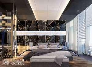 Penthouse Bedroom Design UAE