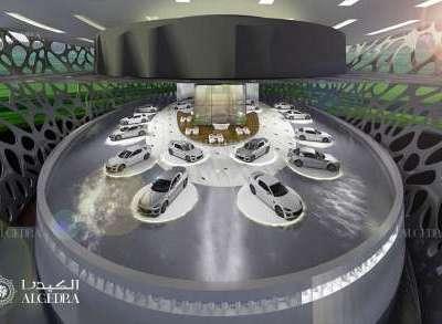Car showrooms design Dubai