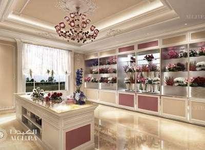 Flower Shop Interior Design Dubai