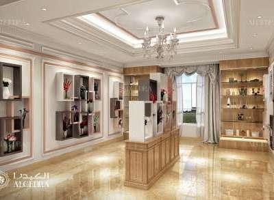 Flower Shop Interior Design UAE