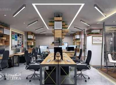 تصميم مساحة مكتب