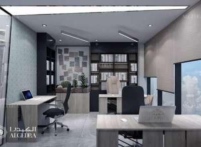 تصميم جدران المكتب