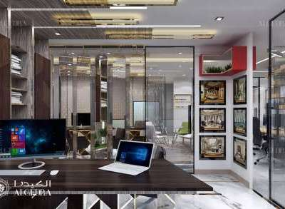 Modern Office Interior Designers in Dubai