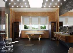 Bathroom Design - With Lightning