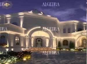 Luxury Villa Exterior Design in Abu Dhabi