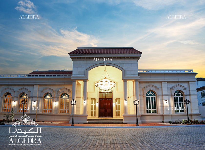 Luxury palace interior in abu dhabi for International decor company abu dhabi