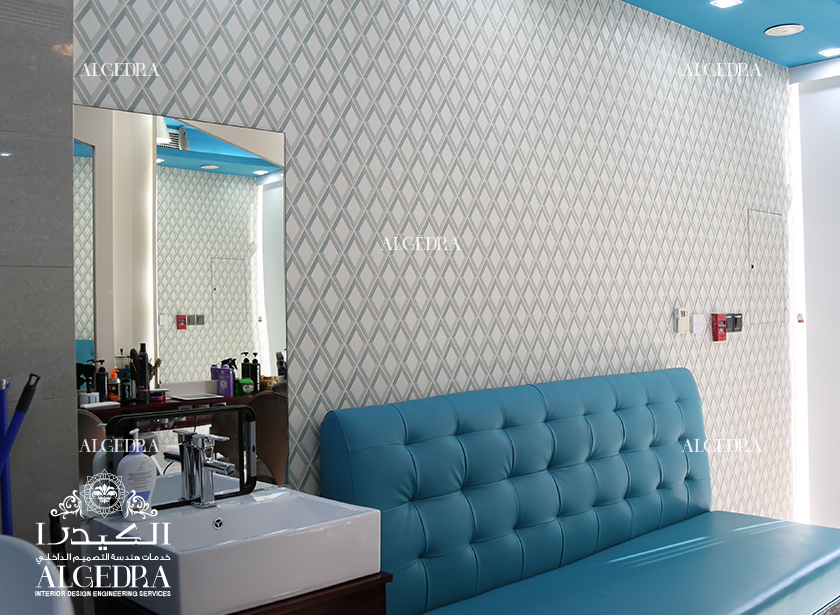 Gents Salon in Dubai Marina - Hospitality Interior Design