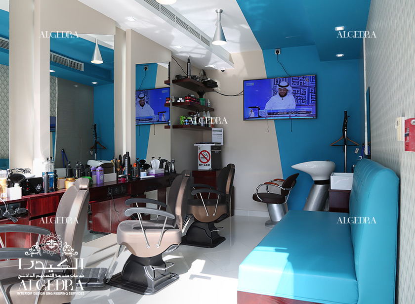 Gents Salon in Dubai Marina - Hospitality Interior Design