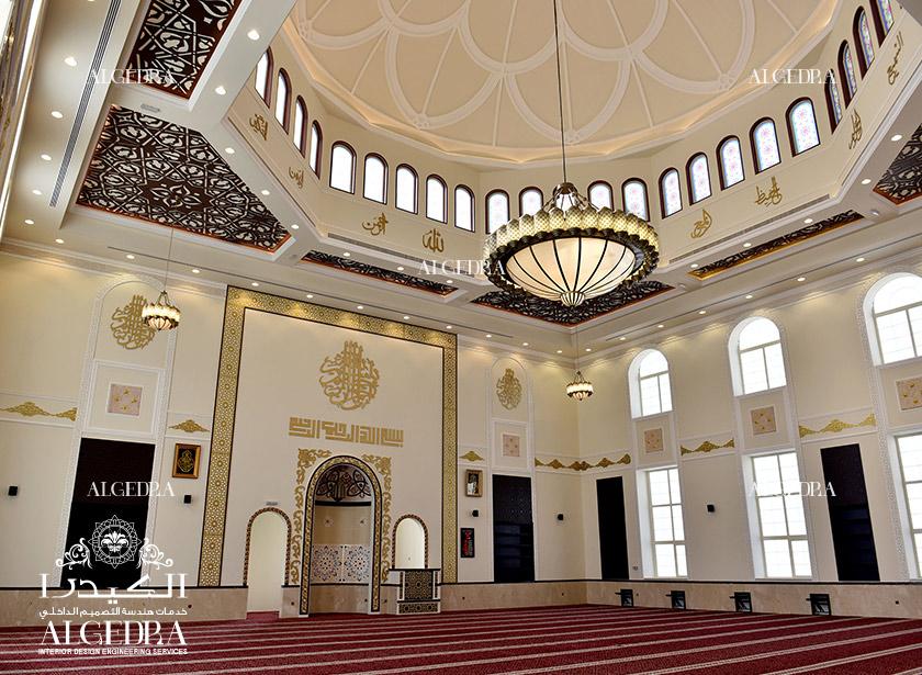 تصميم داخلي لمسجد الشارقة