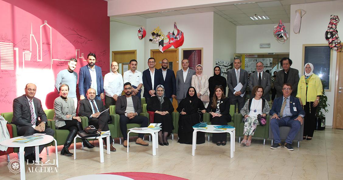 Algedra CEO in Ajman Uni for student graduation