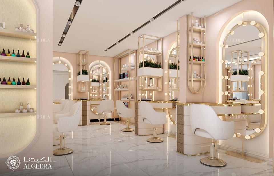Salon Interior Design and Decoration