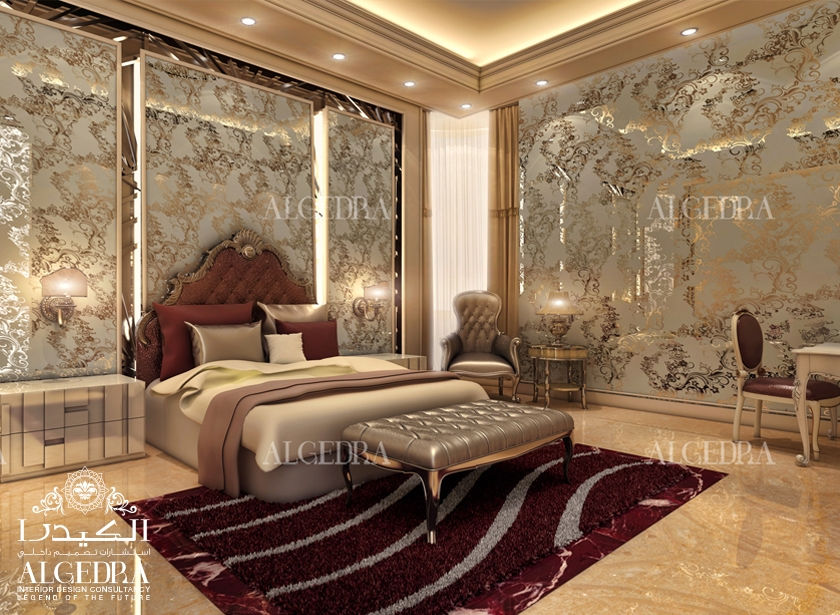Luxury master bedroom design interior decor by algedra Design interior