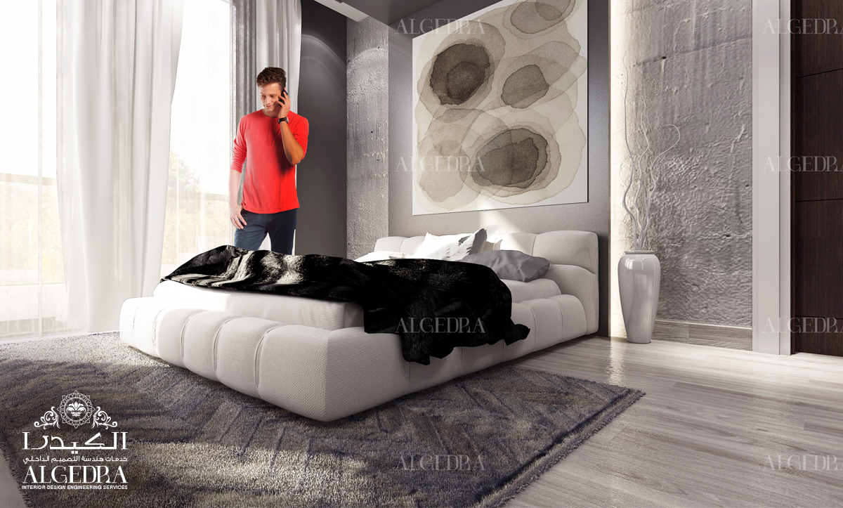 luxury and elegance to the room desing