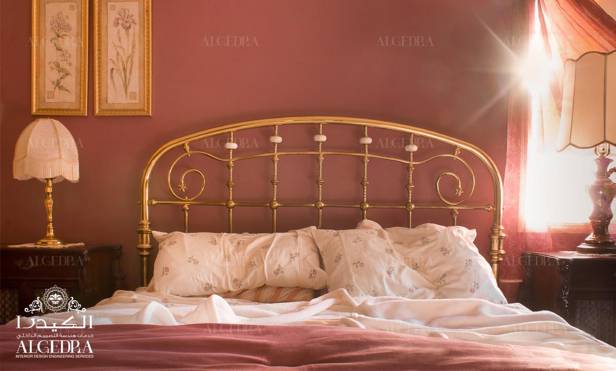 elegant bedroom design by Algedra