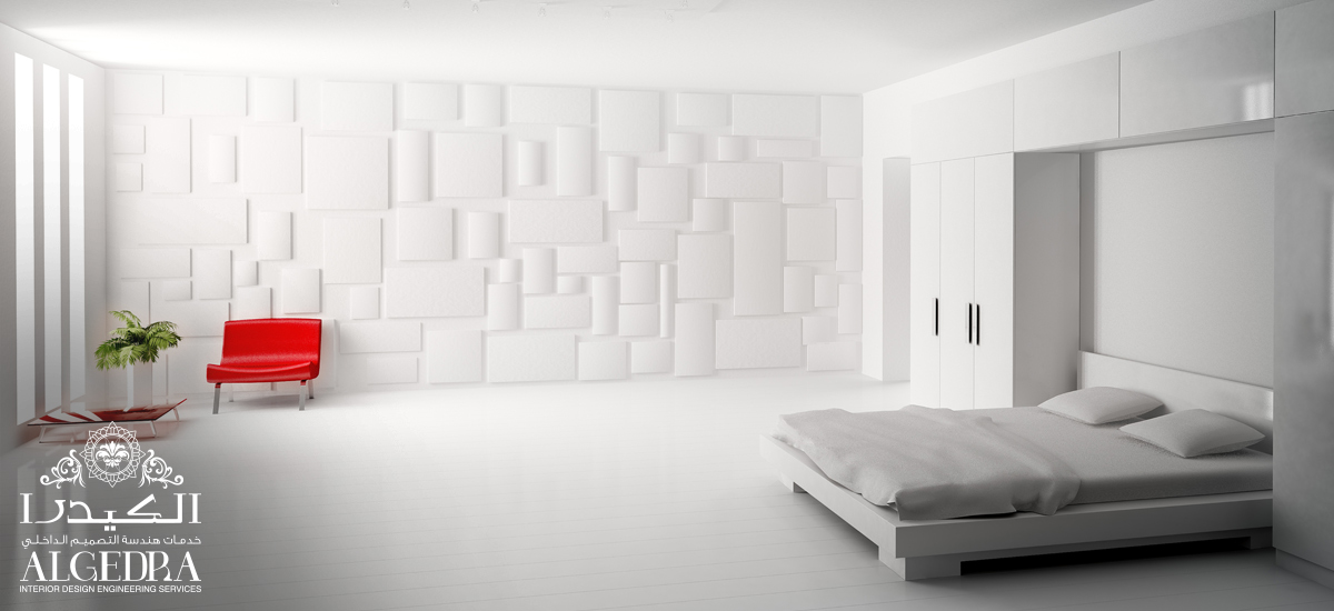 master white bedroom design