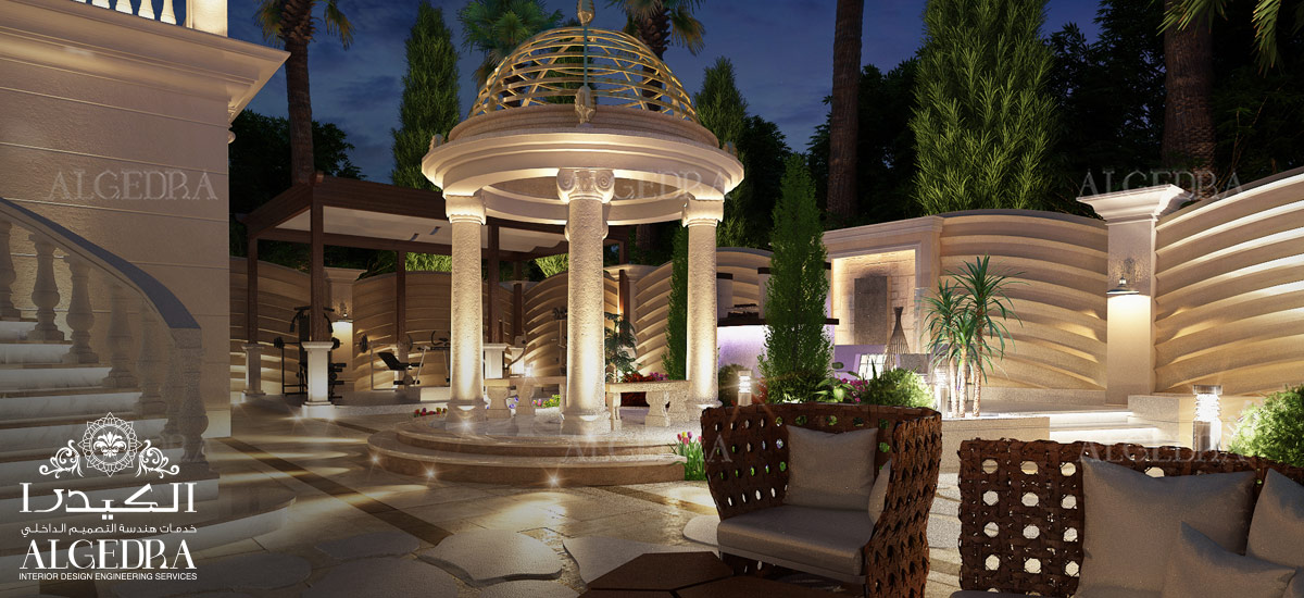 Luxury Landscape design by Algedra