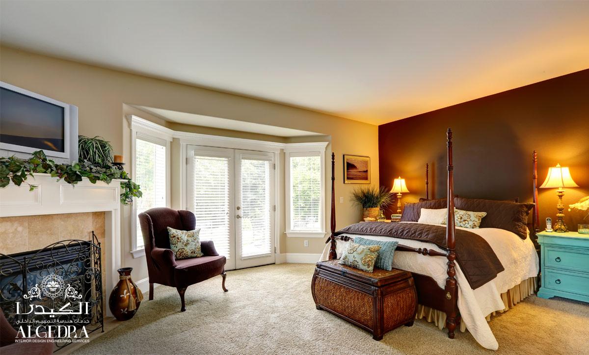 classic bedroom decor by Algedra