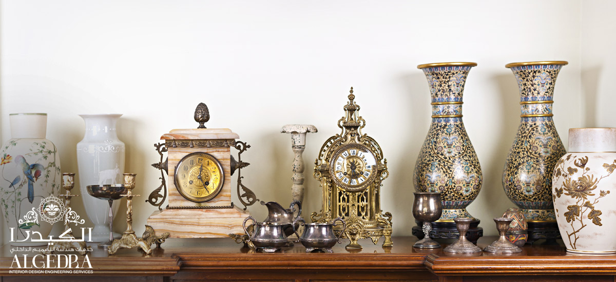 luxury antique decoration